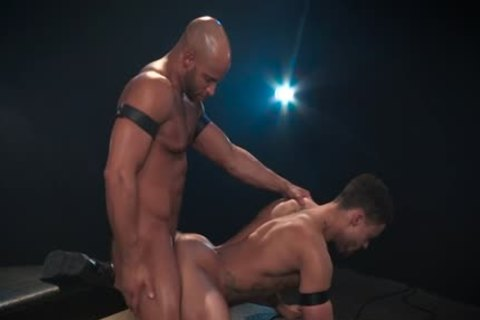 Muscle gay anal With anal sperm flow