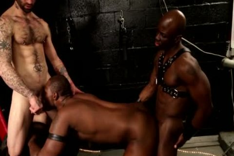 Nubius With Sam Swift And Jay Darksome All gangbang!