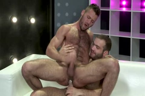 Muscle Bear butthole And butthole semen flow