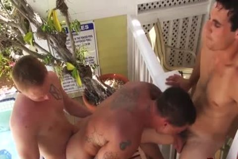 Sebastian young receives Barebacked & Spit Roasted By Zane Anders & Jack King
