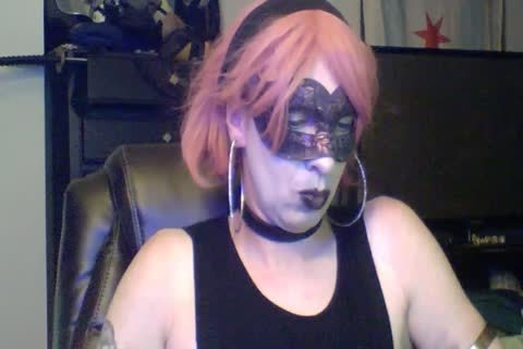 attractive Dancing Goth CD cam Show (part 2 Of 2)