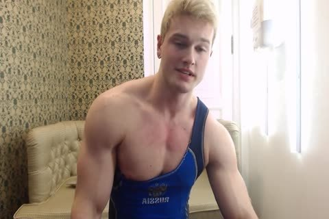 sleazy young Russian Muscle Hunk
