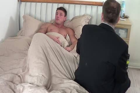 humongous lad acquires A spanking