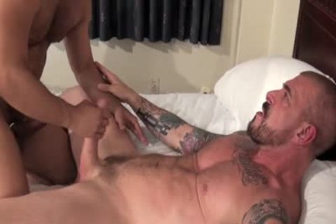 Rocco Steele Has A bare anal hammering