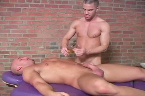 Zack And Jake Tyler Have A horny Massage