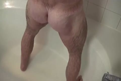 tasty Muscle Daddy Mikey Shower jerk off   cum