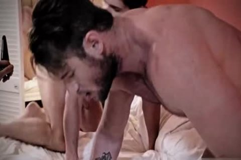 hairy homo threesome And sperm flow