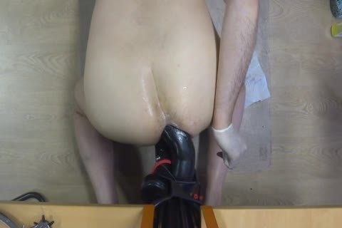 long Time Self Fuking With A gigantic sex tool