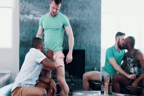 NOAH DONOVAN - AARON REESE - CURTIS WOLFE & ZIGGY BANKS - strip POKER