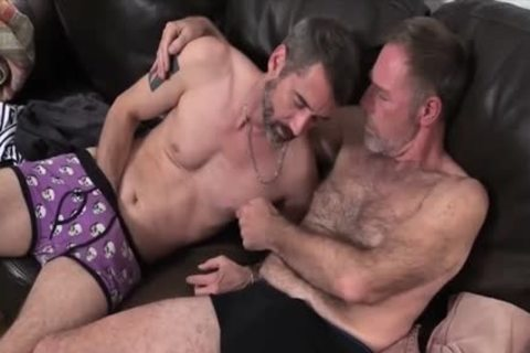 Two Dads fucking On The bed screwed