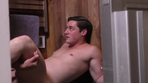 Sorry dad - Damien Stone with Clark Campbell gigantic dick Nail
