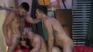 Paranormal - Diego Reyes and Paddy O'Brian anal fuck