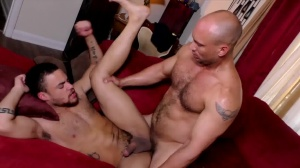 The DILF Diaries - John Magnum and Beaux Banks wazoo Licking Nail