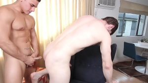 The Married Bottom - Dennis West, Topher Di Maggio anal bang