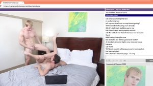 The Chat Room - Cameron Foster with Brandon Moore anal Love