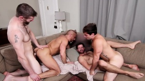 The In-Laws - Dirk Caber with Dennis West butthole Nail