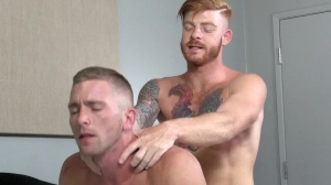 Straight chap's whore - Bennett Anthony and Scott Riley anal sex