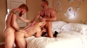 attractive lad - Dirk Caber with John Magnum butthole Hook up