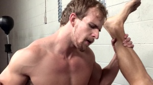 Grappling The Straight boy - Cameron Foster and Alexander Gustavo ass Nail