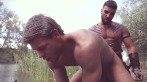 homosexual Of Thrones - Abraham Al Malek & Toby Dutch butthole pound