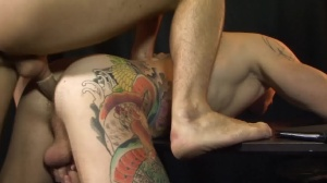 In The Dog house - Harley Everett with Jay Roberts butthole Nail