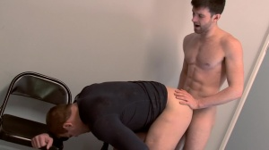Scrum - Colby Jansen & Woody Fox butthole Hook up