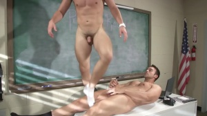 Hazing Bust - Rocco Reed, Joey Cooper ass sex