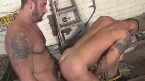Late For Work - Spencer Reed & Alex Marte ass Nail
