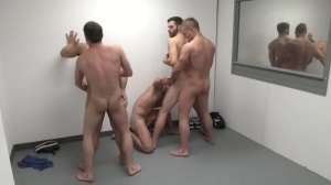 The Line Up - Landon Conrad with Trevor Knight anal poke
