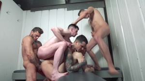 Snap! - Pierre Fitch, Jordan Fox butthole plow