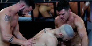 Dream Fucker - Francois Sagat and Paddy O'Brian ass Hump