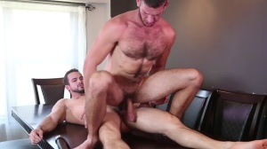 Raging Hard On - Phenix Saint and Jimmy Fanz butthole Hump