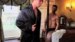 A Royal Fuckfest - Connor Maguire and Theo Reid anal Hook up