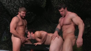 travel Of Duty - Zeb Atlas, Colby Jansen ass plow