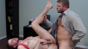 The drip - Colby Jansen and Brandon Moore anal hammer
