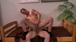 Being males About It - Dylan Roberts with John Jockson anal hammer