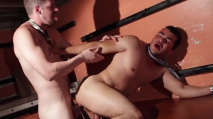 Warehouse meeting - Andrew Stark and Enrique Romo butthole Hook up