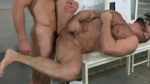 Defiance - Paddy O'Brian & Victor D'Angelo butthole job