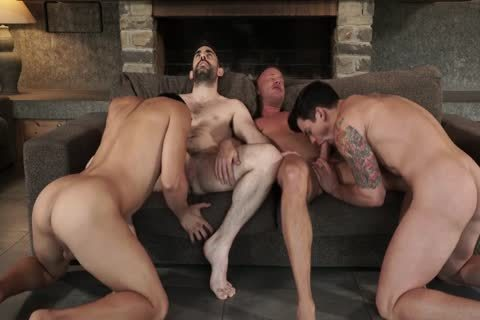 Two Daddies fuck Younger couple raw