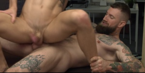 Putting The arse In Assistant: - Troy Daniels & Drew Dixon anal poke