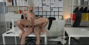 Putting The booty In Assistant: - Paddy O'Brian and Drew Dixon butthole Love