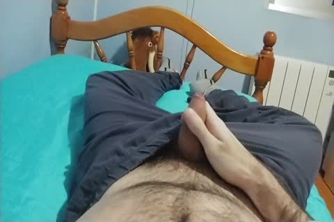 Me jerking off At bed