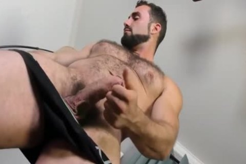 Jaxton Wheeler jerking off Is hairy penis