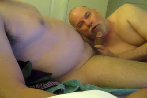 Wide, Brown, Uncut cock From My Mexican Buddy.