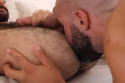 hairy males nail in nature's garb