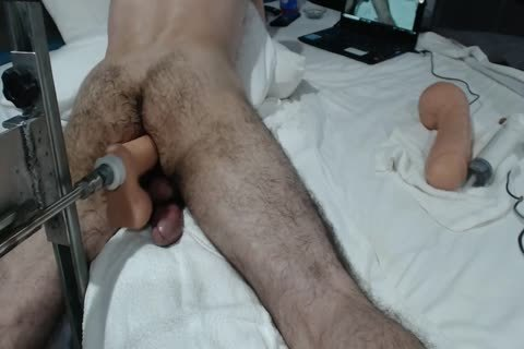 13+ CREAMY ass ORGASMS+ large SHOOTING LOAD WITH poke MACHINE
