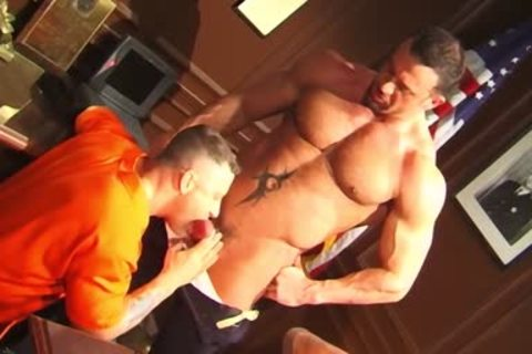 Jim Slade gets Nailed Muscle Penitentiary