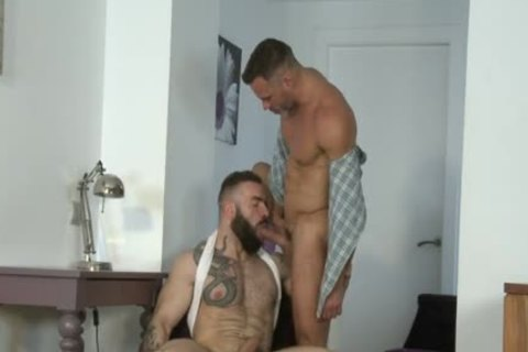 Manuel Skye & Max Hiltom plowing Each Other bare