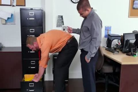 GRAB anal - new Employee receives Broken In By The Boss, Adam Bryant