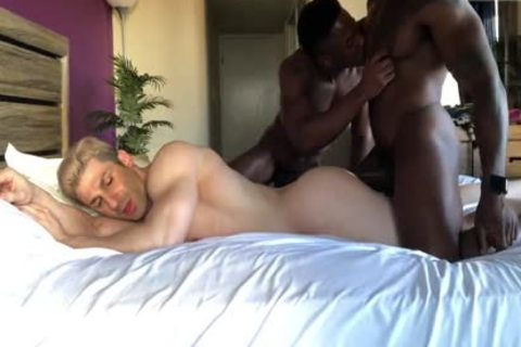 Max Konnor & Liam plowing Sir Jet bare